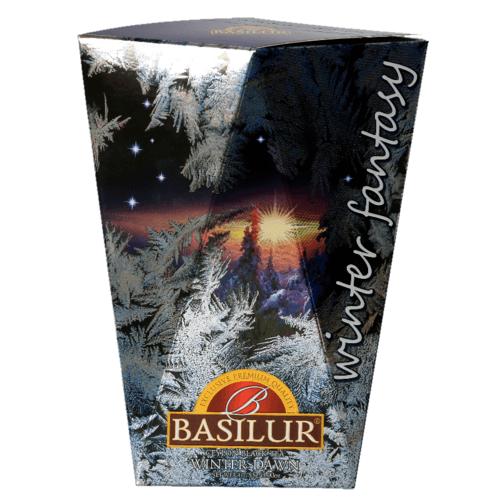 Черный чай Basilur Зимний рассвет картон 85 г