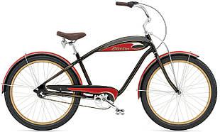 "Велосипед 26"" ELECTRA Mulholland 3i (Alloy) Men's black/red"