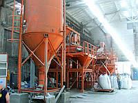 Установка для производства сухих строительных смесей СБ-240-V