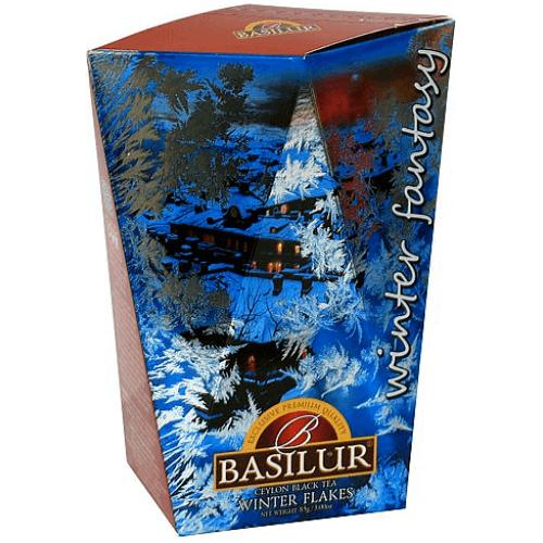 Черный чай Basilur Зимняя снежинка картон 85 г