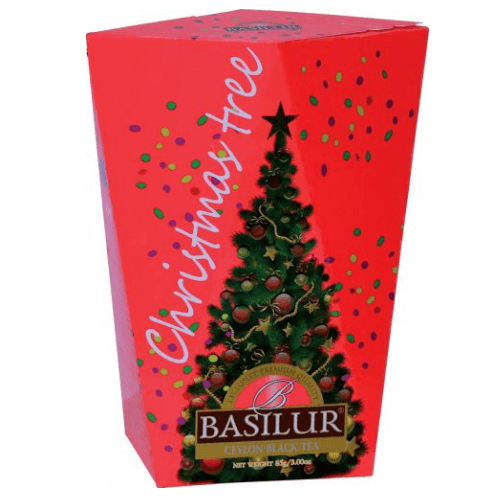 Черный чай Basilur Красная картон 85 г