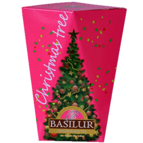 Черный чай Basilur Фиолетовая картон 85 г