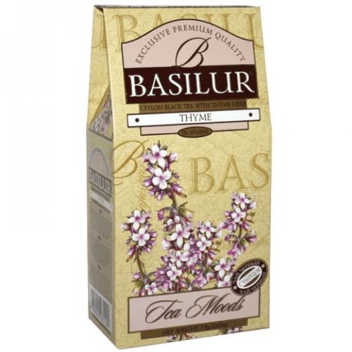 Черный чай Basilur Чабрец картон 75 г