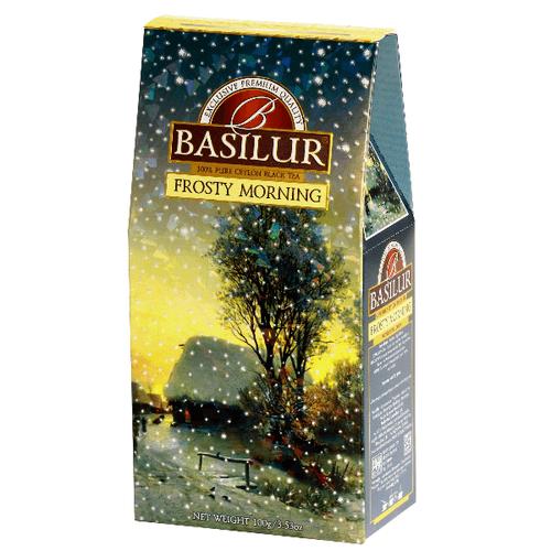 Черный чай Basilur Морозное утро картон 100 г