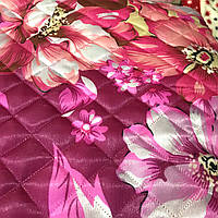 Летнее одеяло покрывало АТЛАС с 2х сторон полуторный размер 145/205