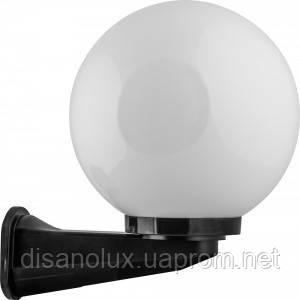 Светильник парковый Бра  NF2803  и шар D250мм опал  с адаптером  Е27 IP44