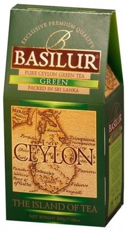 Зеленый чай Basilur картон 100 г