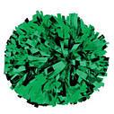 Помпон черлидера Pom Poms (серебро) 15х9см, фото 2