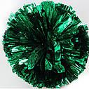 Помпон черлидера Pom Poms (серебро) 15х9см, фото 4