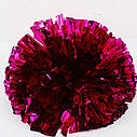 Помпон черлидера Pom Poms (серебро) 15х9см, фото 6