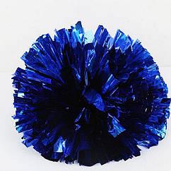 Помпон черлидера Pom Poms 1шт (синий) 15х9см