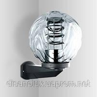 Светильник парковый Бра/кронштейн  NF2803  черный для шара  150-250мм  IP44, фото 3