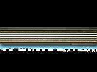 Труба/штанга рифленая для карниза 25 мм 2 м