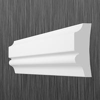 Плинтус потолочный багет Киндекор  U-35 (30 мм)