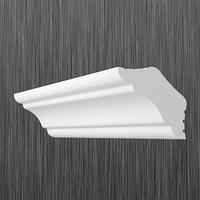 Плинтус потолочный багет Киндекор  K-30 (26*26)