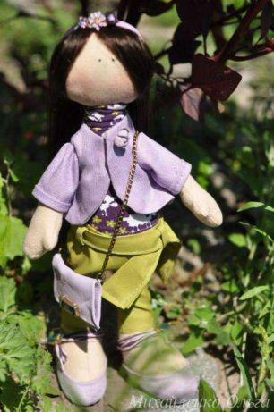 Інтер'єрна лялька Модниця