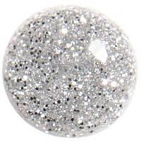 Гель-лак для ногтей SALON PROFESSIONAL (CША) 17мл. Цвет -  прозрачный с серебряными блестками, плотный.