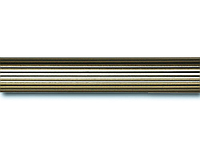 Труба/штанга рифленая для карниза 25 мм 3 м