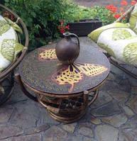 Роспись мебели и предметов интерьера