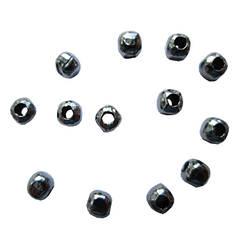 Бусины Разделители Бесшовные, Цвет Черный Антрацит, Диаметр 2.4 мм, Отв. 0.8 мм, 10 г/около 190 шт.