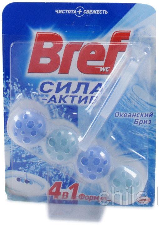 Гель в шариках 4в1 для унитаза (50мл) БРЕФ