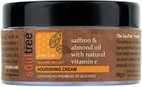 Питательный крем для лица Soul Tree с шафраном, миндальным маслом и витамином Е, 50 г