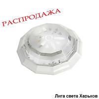 Светильник ЖКХ круг пластиковый двенадцатигранник Dizayn на две лампы