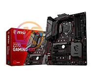Мат.плата 1151 (Z270) MSI Z270 GAMING M3, Z270, 4xDDR4, CrossFireX, Int.Video(CPU), 6xSATA3, 2xM.2, 2xPCI-E 16x 3.0, 4xPCI-E 1x 3.0, ALC1220, Killer