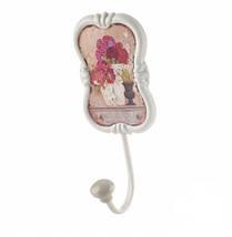Настенный крючок-вешалка Цветник