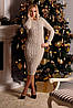 Вязаное платье «Тина» - Фото
