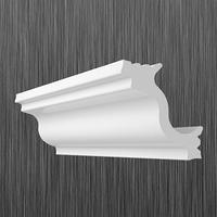 Плинтус потолочный багет Киндекор М-40  (30*30)