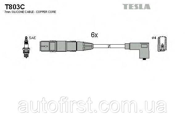 Tesla T803C Высоковольтные провода VW