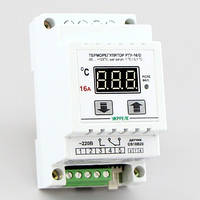 Терморегулятор цифровой универсальный на DIN-рейку (-50°...+125°, реле 16А) РТУ-16/D