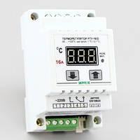 Терморегулятор цифровой универсальный на DIN-рейку (-50°...+125°, реле 16А) РТУ-16/D-Т