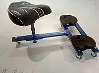 Многофункциональное сиденье плиточника на колесиках