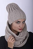 Комплект женский шапка 0028H и Хомут 0029 H