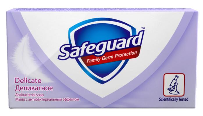 Мыло туалетное SAFEGUARD (90г)