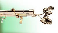 Кронштейн/держатель для карниза двойной 16/25 мм