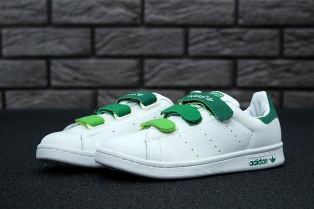 Adidas Stan Smith White Velcro Multicolor