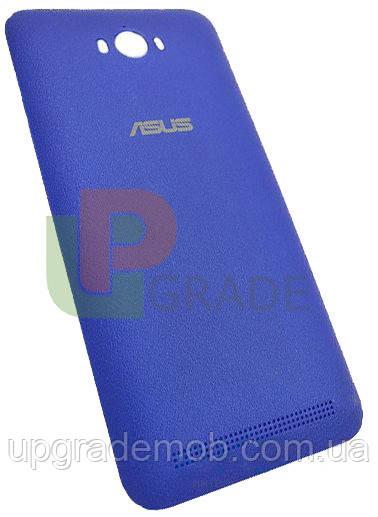 Задняя крышка Asus ZenFone Max ZC550KL, голубая, оригинал