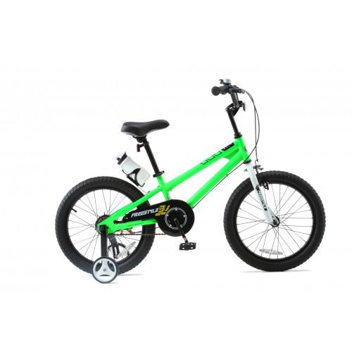 """Велосипед детский RoyalBaby FREESTYLE 18"""", зеленый"""