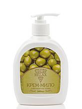 Крем-мило з ароматом оливи