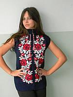 Женская жилетка-вышиванка  (Л.Я.Л.) 789, фото 1