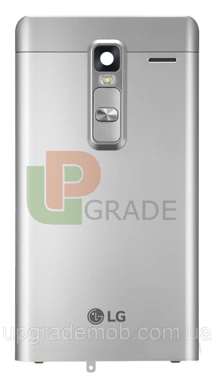 Задняя крышка LG H650E Zero серебристая оригинал
