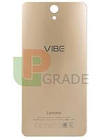 Задняя крышка Lenovo S1 Vibe (S1a40), черная, оригинал (Китай)