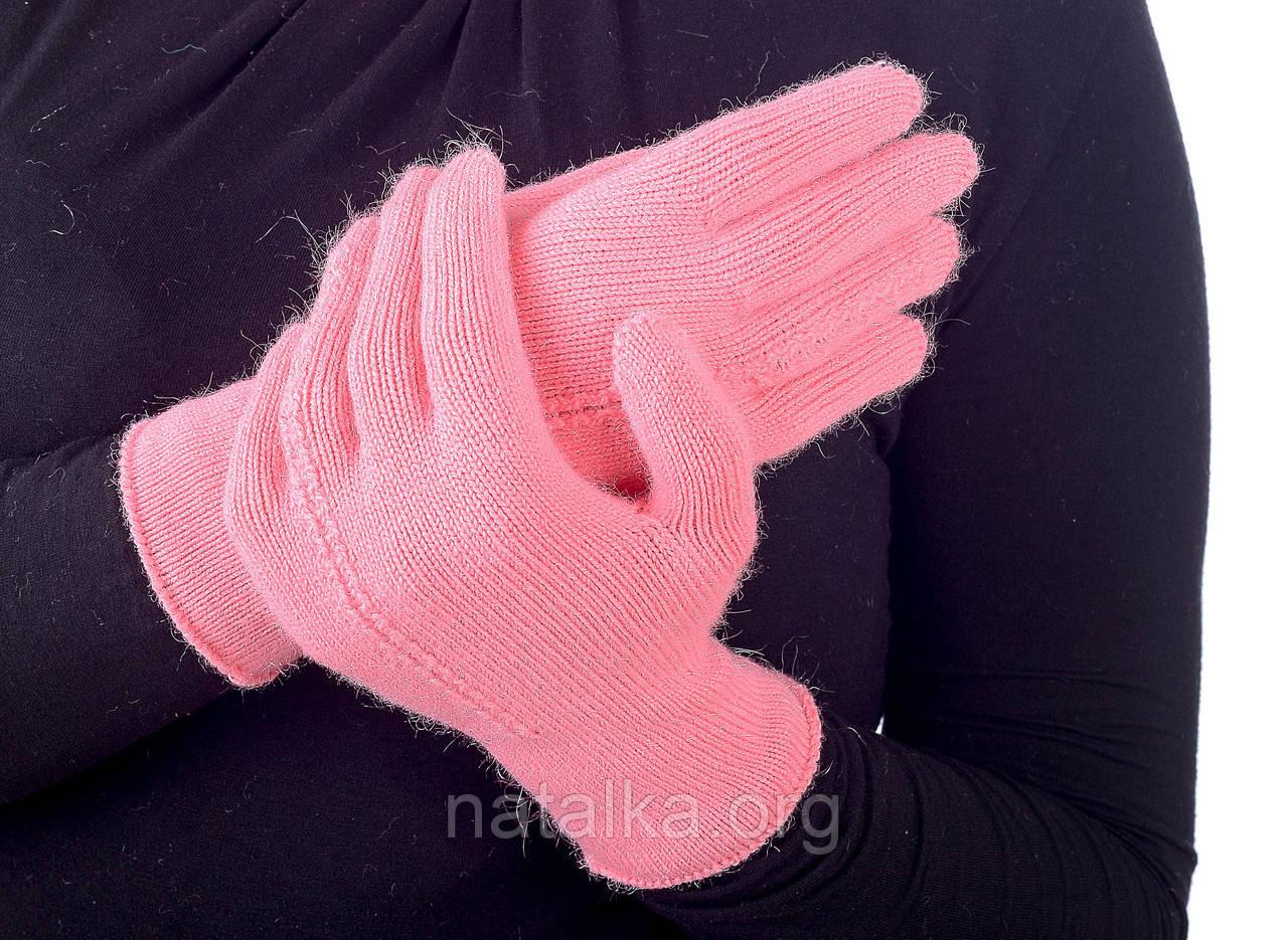 Перчатки 0059Н однотонные зимние Наталка