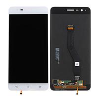 Дисплей (экран) для Asus ZenFone 3 Zoom (ZE553KL) + с сенсором (тачскрином) белый Оригинал