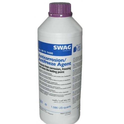 Антифриз концентрат фиолетовый SWAG (G12+) 1,5 литра