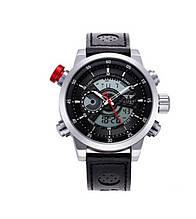 Наручные часы AMST AM3013 Мужские наручные водонепроницаемые часы, Серо-Черные (SUN0223)