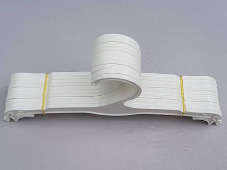 Плечики вешалки пластмассовые для нижнего белья WBO26PPU белые, 26 см